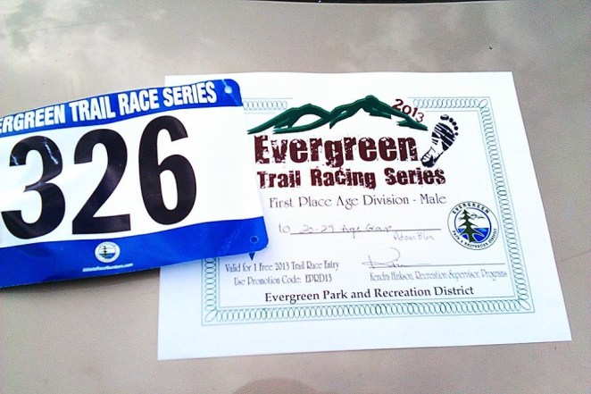 Bergen Peak Trail 1/2 Marathon Post-race Report