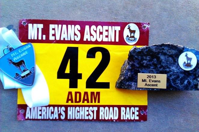 2013 Mount Evans Ascent